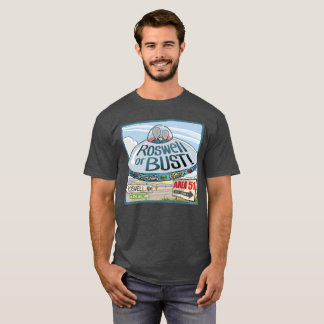 Camiseta Extranjeros en un UFO a Roswell