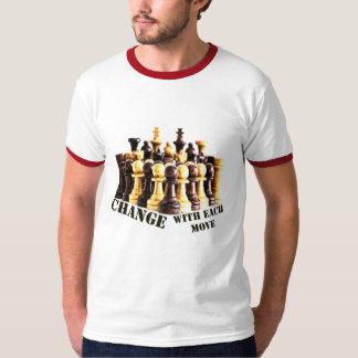 Camiseta extremidades del ajedrez en vida