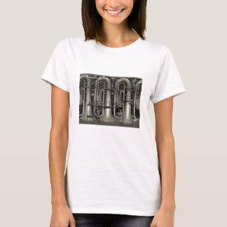 Camiseta Fábrica de la música de la tuba de Steampunk