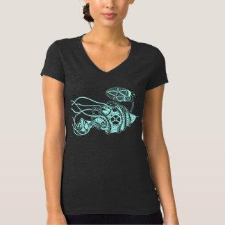 Camiseta Fago de Steampunk contra bacterias