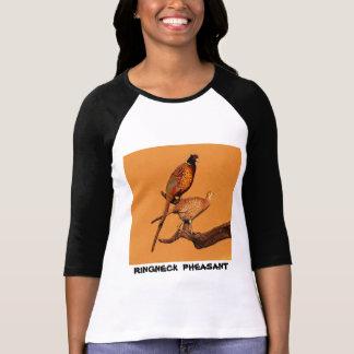 Camiseta faisán del Anillo-cuello