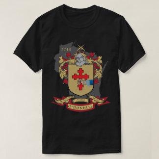 "Camiseta Familia Crest_Wisconsin T oscuro de O "" Donnell"