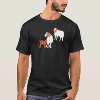 Camiseta Familia de la cabra del Boer