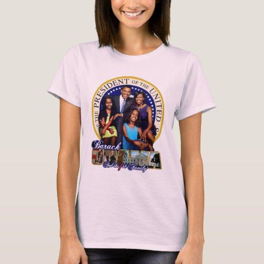 Camiseta Familia de Obama 2008 (muñeca T)