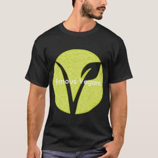 Camiseta famosa de los veganos