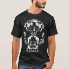Camiseta Fantasma del gatito de la muerte del cráneo del