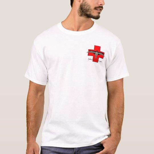 Camiseta farmaceuta del hospital