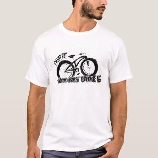 "Camiseta Fatbike T-Shir ""no soy gordo, pero mi bici es """