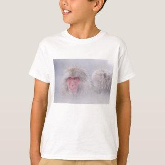Camiseta Fauna de la naturaleza de Japón del mono de la
