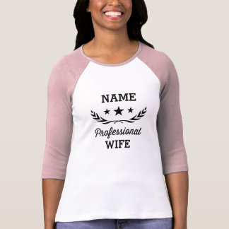 Camiseta Favorable diseño gráfico de la esposa el |