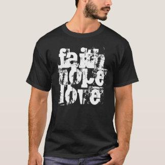 Camiseta fe, esperanza, amor