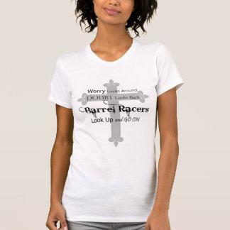 Camiseta Fe que compite con del barril