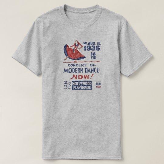 Camiseta federal retra del proyecto del teatro del