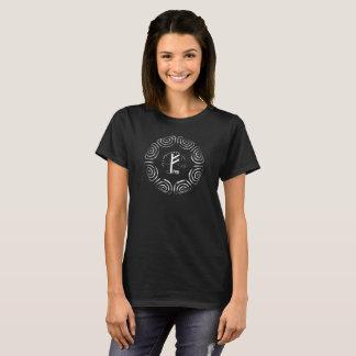 Camiseta ☼Fehu - runa de la suerte y de Prosperity☼