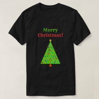 """Camiseta """"Felices Navidad!"""" + Árbol de navidad adornado"""