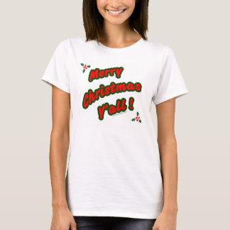 Camiseta Felices Navidad usted
