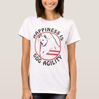 Camiseta Felicidad de la agilidad de Westie