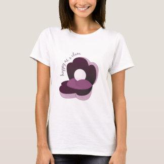 Camiseta Feliz como almeja