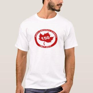 Camiseta Feliz cumpleaños Canadá 150