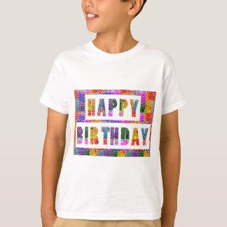 Camiseta FELIZ CUMPLEAÑOS: El artista creó color de la