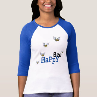 Camiseta feliz de la abeja