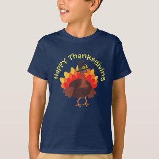 """Camiseta feliz de la """"acción de gracias feliz"""" de"""