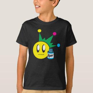 Camiseta feliz de la cara de los niños