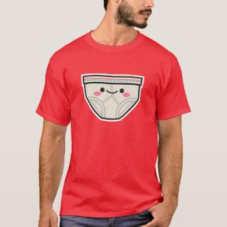 Camiseta feliz de los calzoncillos