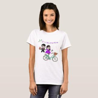 Camiseta feliz de los pares