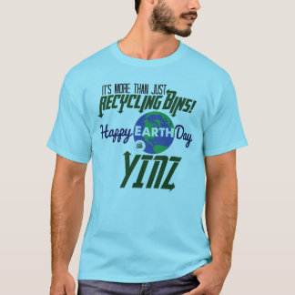 Camiseta feliz de Yinz del Día de la Tierra