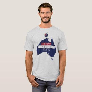 Camiseta feliz del día de Australia