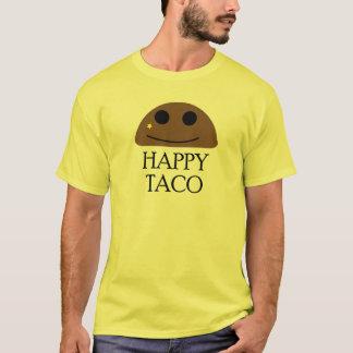 Camiseta feliz del Taco