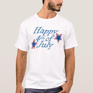 Camiseta Feliz el 4 de julio - luz