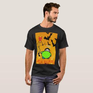 Camiseta feliz hallowen el día
