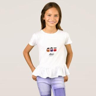 Camiseta femenina de los diseñadores: Edición de