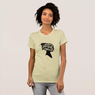 Camiseta Feminista liberal enojada