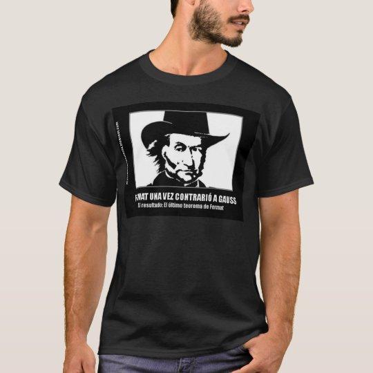 Camiseta Fermat vs Gauss