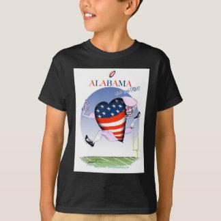 Camiseta fernandes tony ruidosos y orgullosos de Alabama,
