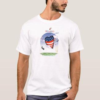 Camiseta Fernandes tony ruidosos y orgullosos de Idaho,