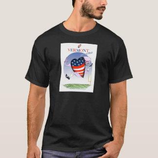 Camiseta Fernandes tony ruidosos y orgullosos de Vermont,