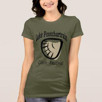 Camiseta Fest de la almeja de Pontchartrain del lago