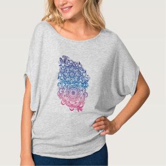 Camiseta Fest floral de la música de la yoga de Boho del