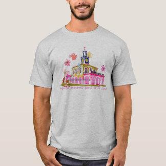 Camiseta Festival 2016 Fayetteville céntrico NC del Dogwood