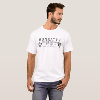 Camiseta Festival 2018 del ajedrez de Bunratty - 25to