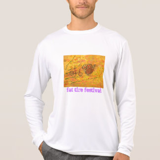 Camiseta festival gordo del neumático