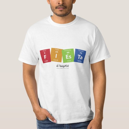 Camiseta FIEsTa - blanco