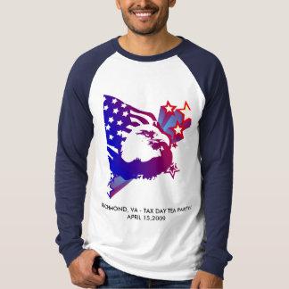 Camiseta Fiesta del té del día del impuesto -