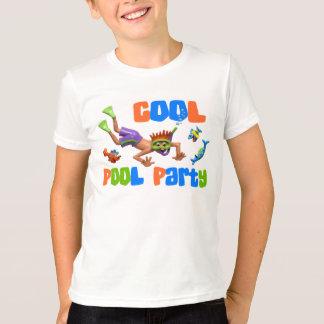 Camiseta Fiesta en la piscina fresca