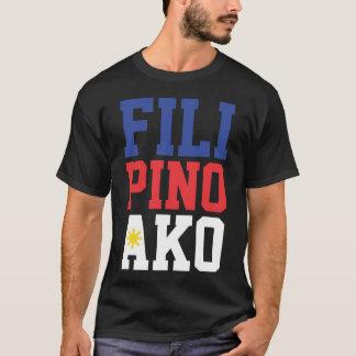 Camiseta Filipino Ako (frente solamente)