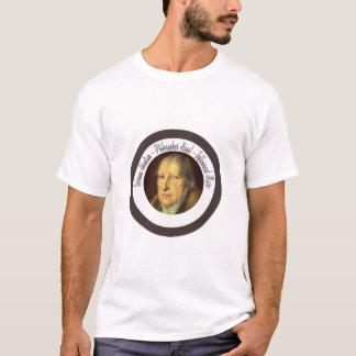Camiseta Filósofo idealista alemán Jorge Hegel